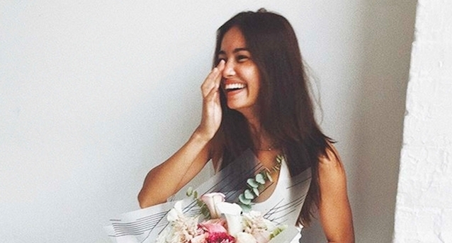 Kelsey Merritt becomes first Fil-Am to walk in Victoria's