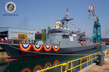 PH Navy's first missile warship launched in Sokor