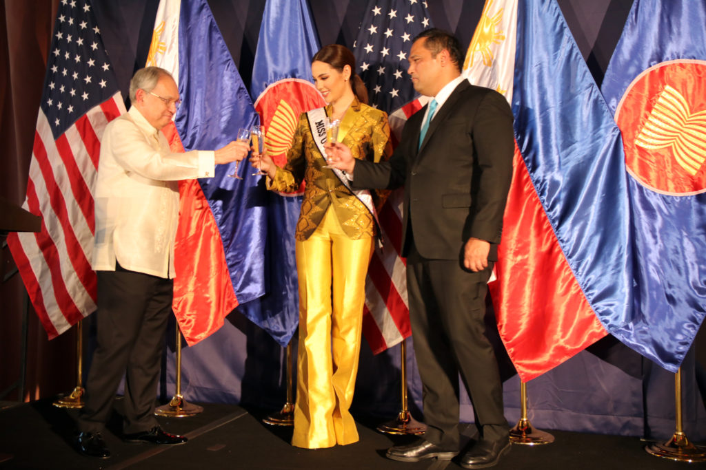 Miss Universe Catriona Gray Joins Washington Dc