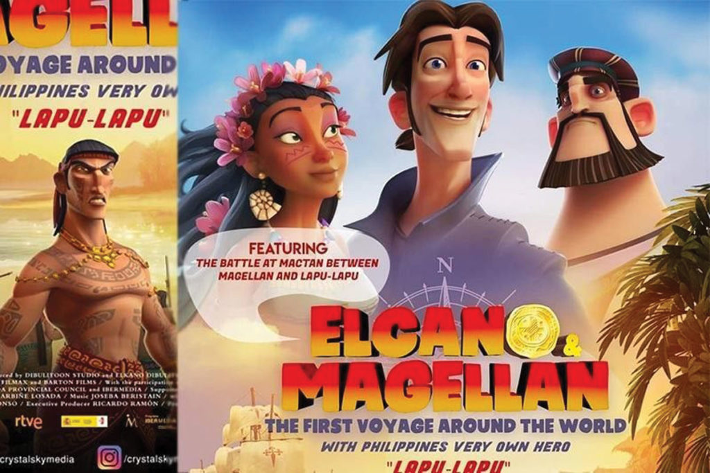 Massive outrage sparks over Spanish-produced animated feature on Magellan, Elcano