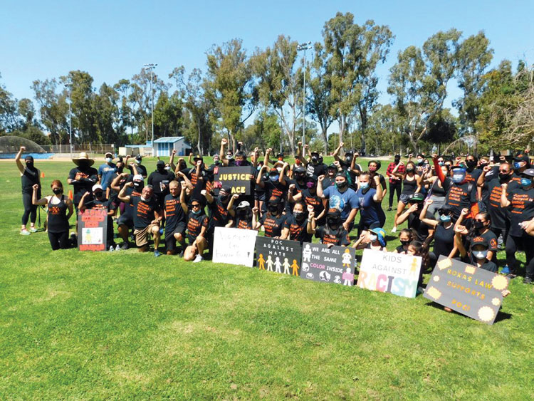 www.asianjournal.com: Protesters flock to Torrance park to demand justice a month after viral anti-Asian videos —